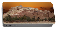 Mud Brick Buildings Of The Ait Ben Haddou Portable Battery Charger