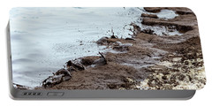 Muddy Sea Shore Portable Battery Charger