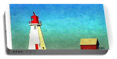 Mulholland Lighthouse, Campobello Portable Battery Charger