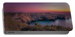 Mullion Cove Cornwall Sunset Portable Battery Charger