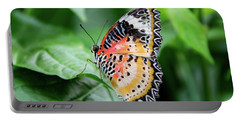 Multi Colored Butterfly Portable Battery Charger