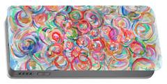 Multicolor Bubbles Portable Battery Charger