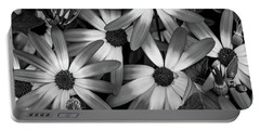 Multiple Daisies Flowers Portable Battery Charger