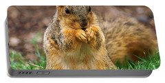 Munching Cute Fox Squirrel Portable Battery Charger