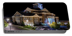 Municipal Center At Night - North Augusta Sc Portable Battery Charger