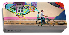 Mural Art Portable Battery Charger