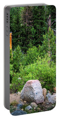 Portable Battery Charger featuring the photograph Murder Weapon by Jon Burch Photography