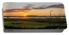 Murrells Inlet Sunrise - August 4 2019 Portable Battery Charger