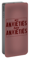 My Anxieties Portable Battery Charger