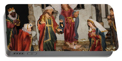 My German Traditions - Christmas Nativity Scene Portable Battery Charger