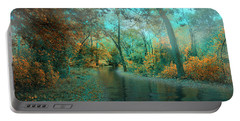 Mystic Morning Portable Battery Charger