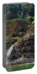 Na Pali Coast Waterfall Portable Battery Charger