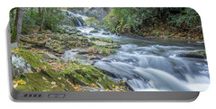 Portable Battery Charger featuring the photograph Nantahala Fall Flow by David R Robinson