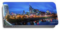 Nashville Night Portable Battery Charger