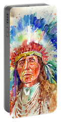 Native American Chief Portable Battery Charger