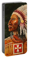 Native American Indian Chief Portable Battery Charger