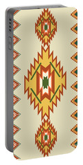 Native American Rug Portable Battery Charger