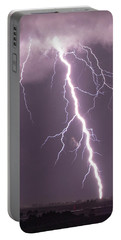 Nebraska Arcus And Lightning 046 Portable Battery Charger
