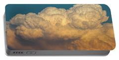 Nebraska Sunset Thunderheads 053 Portable Battery Charger