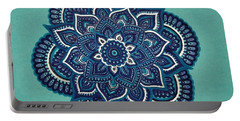 Neelkamal  The Blue Lotus Portable Battery Charger