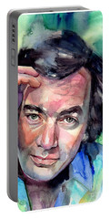 Neil Diamond Portrait I Portable Battery Charger