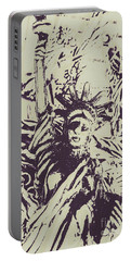 Neoclassical Lady Landmark Portable Battery Charger