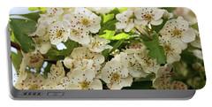 Neston.  Hawthorn Blossom. Portable Battery Charger
