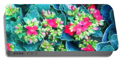 New Blooms Portable Battery Charger