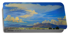New Mexico Cloud Patterns Portable Battery Charger