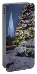 New Snow For Christmas Portable Battery Charger