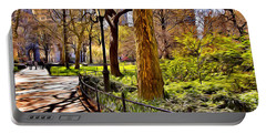 New York Central Park Portable Battery Charger