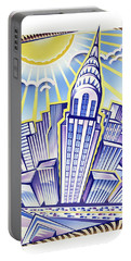 New York Chrysler Building Portable Battery Charger