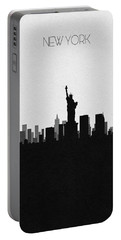 New York Cityscape Art Portable Battery Charger