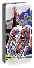 New York Cyclists Portable Battery Charger