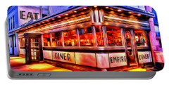 New York Empire Diner Portable Battery Charger