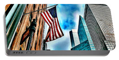 New York Flag Portable Battery Charger