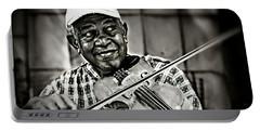 New York Street Fiddler Portable Battery Charger