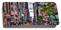 New York Street Portable Battery Charger