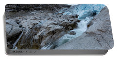Portable Battery Charger featuring the photograph Nigardsbreen, Norway by Andreas Levi