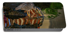 Night Heron Catch Portable Battery Charger