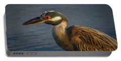 Night Heron Portrait Portable Battery Charger