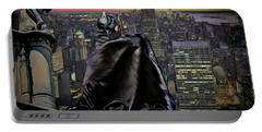 Night Of The Bat Man Portable Battery Charger