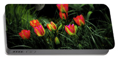Night Tulips Portable Battery Charger