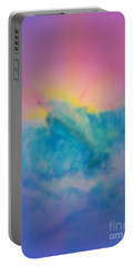 Portable Battery Charger featuring the mixed media No Limits by Sabine ShintaraRose