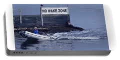 No Wake Zone Portable Battery Charger