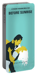 No1011 My Before Sunrise Minimal Movie Poster Portable Battery Charger