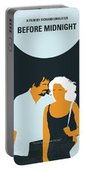 No1013 My Before Midnight Minimal Movie Poster Portable Battery Charger