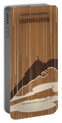 No1050 My Unforgiven Minimal Movie Poster Portable Battery Charger