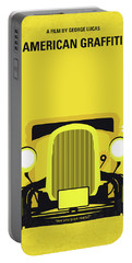 No1085 My American Graffiti Minimal Movie Poster Portable Battery Charger