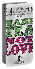 No16 My Silly Quote Poster Portable Battery Charger